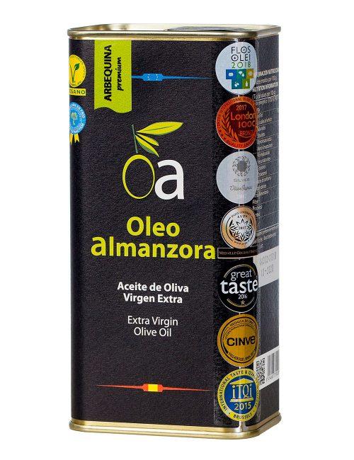 Aceite Oliva Virgen Extra Arbequina Premium Lata 500ml