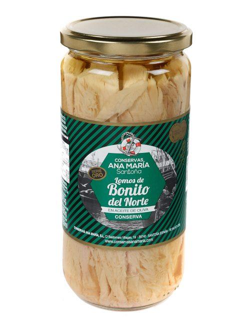 Lomos de Bonito del Norte en aceite de oliva 720 ml