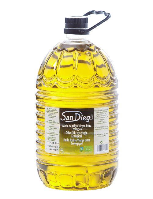 Aceite Oliva Virgen Extra Ecológico 5L