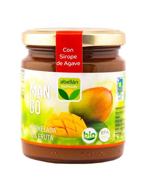 Mermelada Ecológica Mango con Sirope de Agave