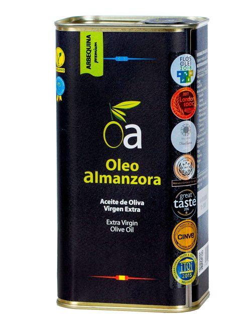 Aceite Oliva Virgen Extra Arbequina Premium Lata 1L.