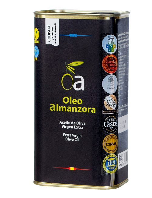 Aceite Oliva Virgen Extra Coupage Premium Lata 1L.