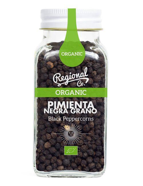 Pimienta Negra en grano Ecológica 80gr.