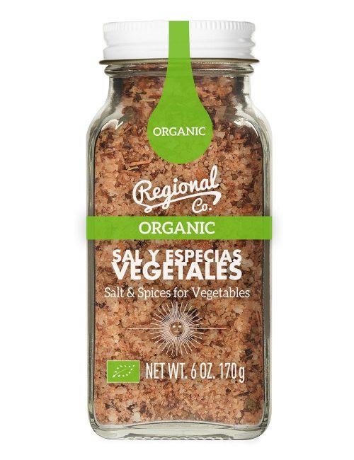 Sal y Especias para Vegetales Eco 170gr.