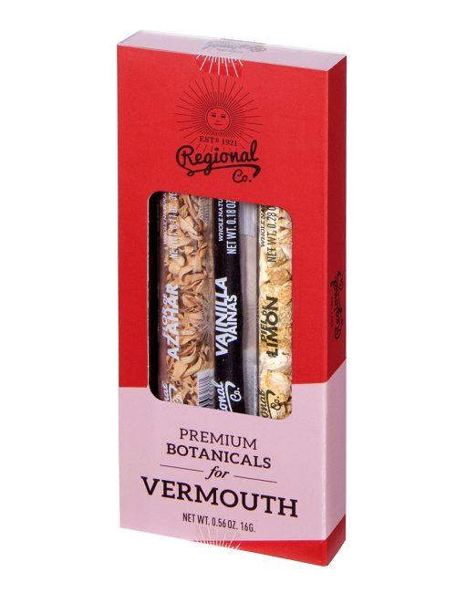Pack 3 Tubos Botánicos Vermouth