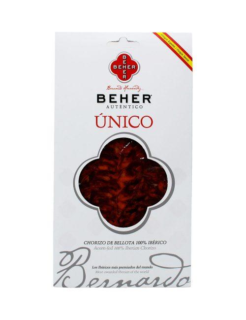 Chorizo Ibérico Bellota Bandeja 100 gramos Beher