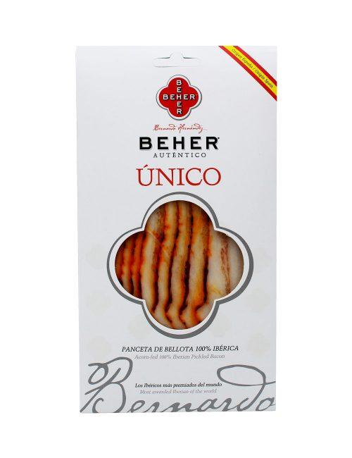 Panceta Ibérica Bellota Bandeja 100 gramos Beher