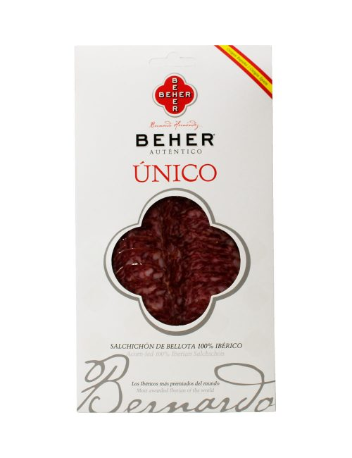 Salchichón Ibérico Bellota Bandeja 100 gramos Beher