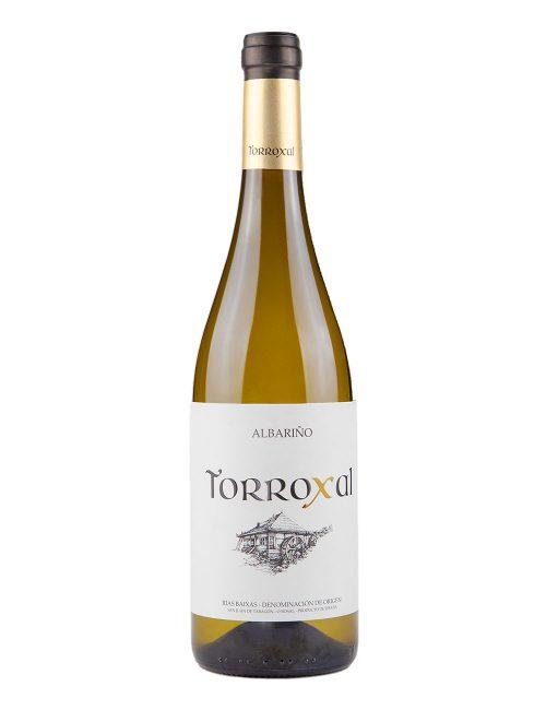 vino blanco albariño torroxal